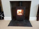 Morso Squirrel 5kw defra approved muti fuel stove