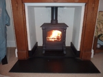 Harmony 13 5kw multi fuel defra approved stove