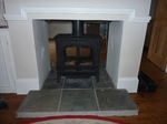 Stovax Stockton 8kw double fronted stove