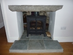 Stovax double fronted stove