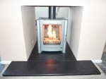 Firebelly 6kw double frontedb stove