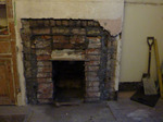 Breakout and expose original fireplace