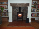 Morso Badger Convection 5kw multi fuel stove.  Defra approved