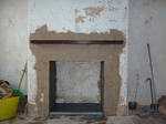 Fit Oak lintel and render chamber